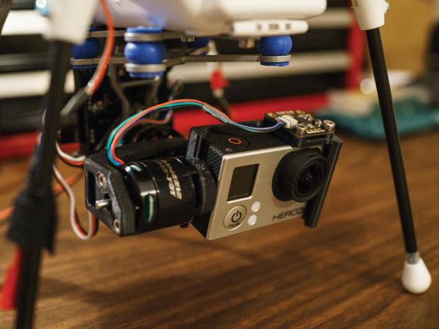 kopteris filmavimas