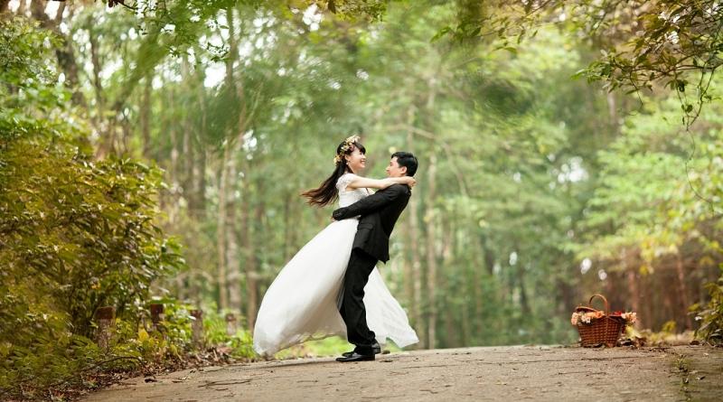 Vestuvių filmavimas iš oro