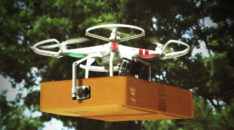 dronas pristatymas