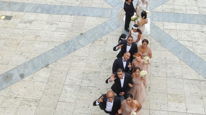 vestuvės iš oro